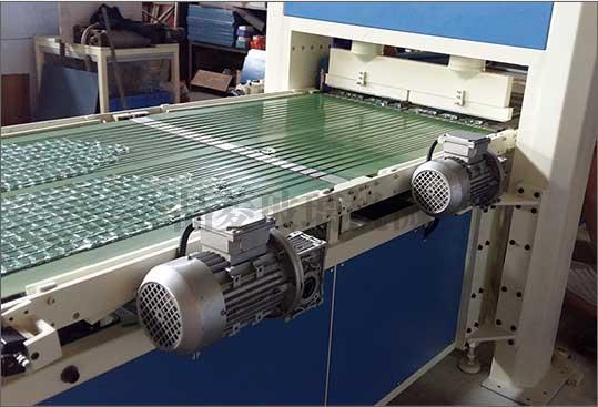 湖南玻璃自动冲压掰粒排版机JLBP-600型