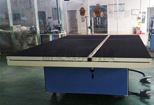 上海气浮顶杆式玻璃分片台