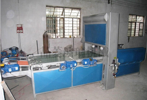 深圳玻璃自动冲压掰粒排版机 JLBP-600型