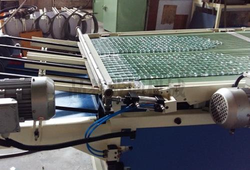 广州玻璃自动冲压掰粒排版机