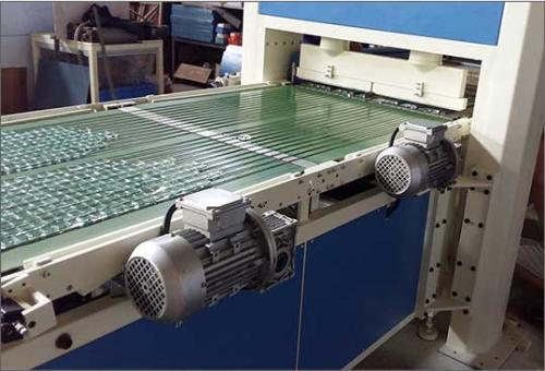 玻璃自动冲压掰粒排版机JLBP-600型