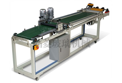 Roller type glass mosaic chip breaking machine